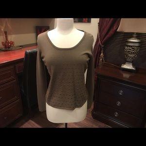 Alberto Makali taupe sweater